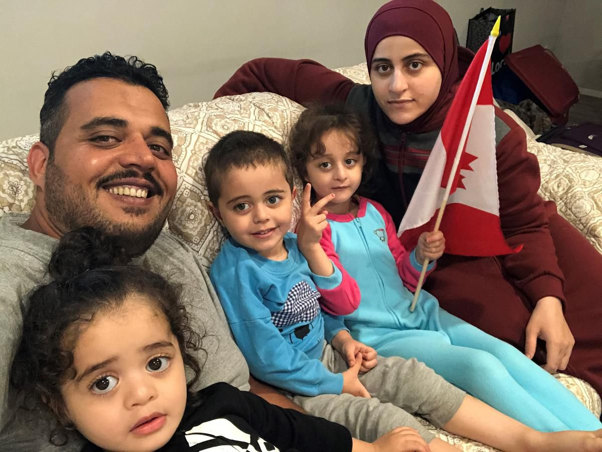 Iraqi Refugee Family Resettled in Canada – Thank You Video!