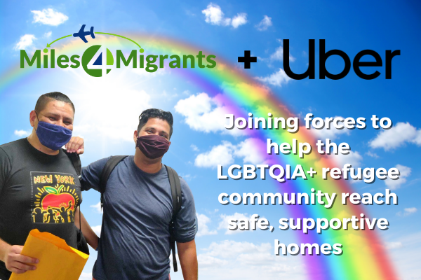 Uber and Miles4Migrants to Provide Transportation for LGBTQ+ Refugees and Asylum Seekers